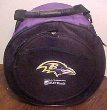 GORGEOUS NEW BALTIMORE RAVENS PORTABLE CHAR-COAL GRILL INSULATED CARRY NYLON BAG