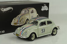 1962 VW Volkswagen beetle Movie Herbie The love bug  1:18 Hot Wheels Elite