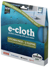 e-cloth Kitchen and Polishing Cleaning Cloth Pack - 2 Cloths - FREE P&P