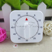 Useful Convenient Square 60 Minute Mechanical Kitchen Cooking Baking Timer