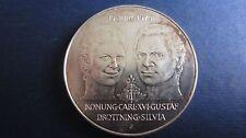 Schweden 50 Kronen 1976 Krönung und 10 Kronen 1972 90-igster Geb. in unc. (E11)
