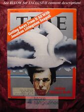 TIME November 13 1972 Nov 72 11/13/72 RICHARD BACH JONATHAN LIVINGSTON SEAGULL