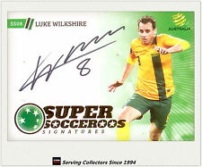 2013-14 A League Trading Cards Super Socceroos Signature SS8 Luke Wiltshire