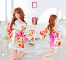 Sexy Japanese kimono party costume cosplay fancy dress UK SZ 8-10 Valentine