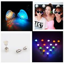 18 Pairs Fashion LED Flahsing Light Up Earring Glowing Ear Studs Party Wholesale