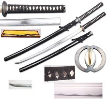 "Black 41"" Handmade Battle Ready Samurai Warrior Sword Musashi Japanese Katana"