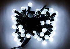White 10M Cherry Christmas Xmas Garden Party Wedding LED String Fairy Lights UK