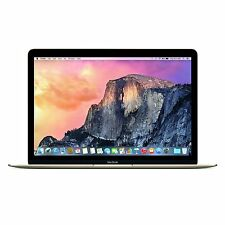 "Apple MacBook 12"" Retina Gold 5K4M2LL/A 8GB RAM 256GB PCIE Flash OSX-YOSEMITE"