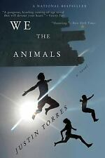 WE ARE THE ANIMALS - JUSTIN TORRES - LIKE NEW BOOK - 9780547844190