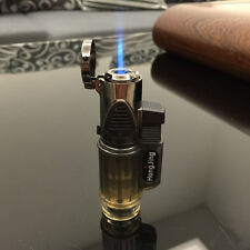 HongJing Windproof Jet Torch Gas Flame Butane Lighter for Cigar Cigarette