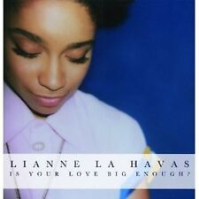 LIANNE LA HAVAS - IS YOUR LOVE BIG ENOUGH?  CD POP INTERNATIONAL NEU