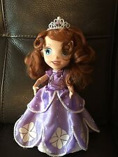 """Disney Store Sofia the First Singing Talking Toy Doll 12"""" Princess Figure"""