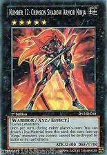SP13-EN030  NUMBER 12: CRIMSON SHADOW ARMOR NINJA Star  yugioh