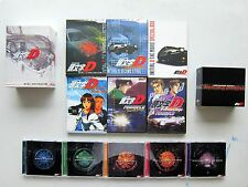Lot of INITIAL D Anime Sets (19 DVDs/CDs) NO duplicate 1 2 3 4 OV + Soundtrack