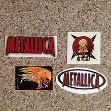 Metallica Sticker Lot Of Four