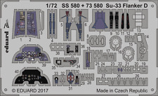 EDUARD 73580 Detail Set for Zvezda Kit Su-33 Flanker D in 1:72
