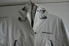 ❤️ White Didriksons 1913 Hooded 100% Waterproof Windproof Parka UK Size 12