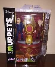 Muppets Series 2 STATLER & WALDORF Action Figures New Diamond Select Balcony