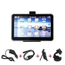"5"" LCD Car Navigation GPS SAT 4GB 128MB FM Touch Screen Bluetooth AV-IN 3D Maps"