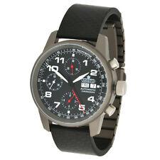 Aristo Unisex Armbanduhr Automatik Chronograph Titan Carbon 5H99 ETA 7750 5ATM