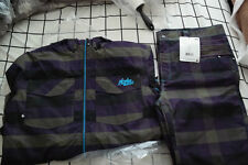 NOMIS FLANNEL HODDY PANT JACKET SET XL fit burton analog k2 union airblaster 686