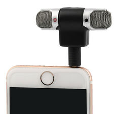 Mini Recorder Stereo Voice Digital Mic Microphone Portable For Smartphones PC
