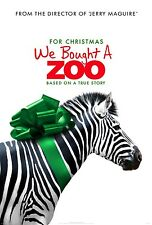 We Bought a Zoo Original Double-Sided Advance Rolled Movie Poster 27x40 NEW 2011