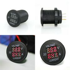 New Car Motorcycle LED DC 30V 10A Digital Voltmeter Ammeter Volt Meter Amp Gauge