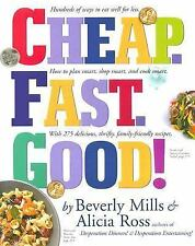 Cheap. Fast. Good!, Ross, Alicia, Mills, Beverly, Good Condition, Book