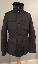 zara mens jacket large Gun Metal Grey Colour 40 Inch Chest