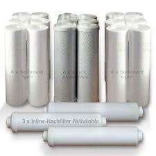 Ersatzfilter Osmose Umkehrosmose  für 3 Jahre, 21 Filter Wasserfilter SET 1