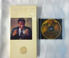 Luther Vandross Never Too Much MASTER SOUND LIMITED EDITION 24-KARAT Gold Disc