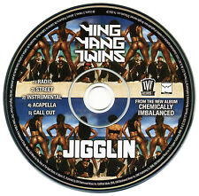 Ying Yang Twins JIGGLIN (Promo Maxi CD Single) (2006) RARE