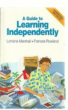 A Guide to Learning Independently by Lorraine A. Marshall (Paperback, 1995)