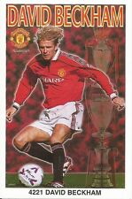 DAVID BECKHAM MANCHESTER UNITED Original Starline Poster MINI Promo Piece 3x5