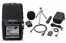 Zoom H2n Handy Handheld Digital Multitrack Recorder with Accessory Bundle