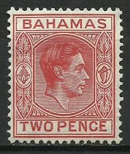 Bahamas Colony Effigie Roi George VI King Head Kopf des Königs Georges VI * 1941