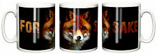 """For Fox Sake"" Funny Mug Birthday Christmas Novelty Gift Stocking Filler"