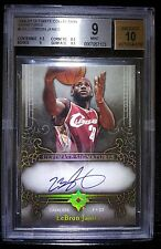 Lebron Ultimate Collection Auto  BGS Mint Exquisite 10 Auto