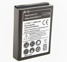 Extended Battery for Galaxy Note i9220 AT&T with Black Cover