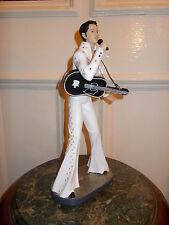 ELVIS PRESLEY FIGURINE  STATUE ROCK & ROLL KING GUITAR RETRO VINTAGE FIGURINE