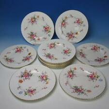 Royal Crown Derby Posies Pattern - 12 Dinner Plates - 10½ inches