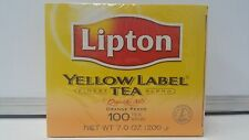 LIPTON YELLOW Label 100 Black Tea Bags 200grams #