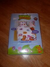 KIDS MOSHI MONSTERS MOSHLINGS SINGLE BED DUVET COVER SET QUILT *REVERSIBLE*  NEW