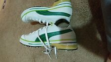 Puma Club 917 Golf Shoes w/Smart Quill Technology Men's 10 White Green/Lime
