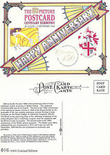 1994 PICTURE POSTCARD CENTENARY EXHIBITION ADVERTISING UNUSED POSTCARD (a)