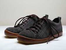 Men's CAMPER Brown Gray Leather Sneakers Size EU 43 US 10