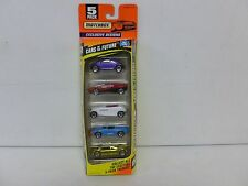 Matchbox 5 Pack Cars of the Future w/VW Bug 208