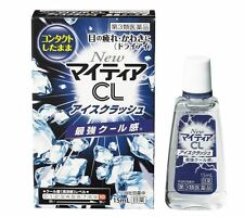 Takeda My tear Ice crash  15mL Strong drops VISION CARE contact Japan