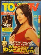 EDYTA HERBUS  mag.FRONT cover 2008 Johnny Depp,Shakira,Julie Roberts,Tom Hanks
